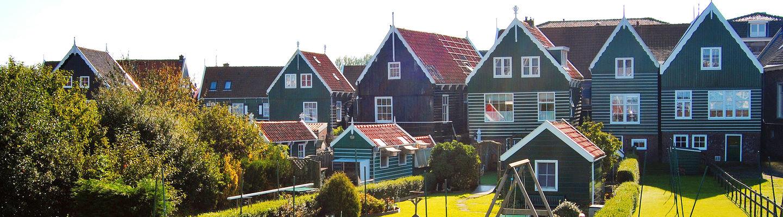 Visiting Volendam