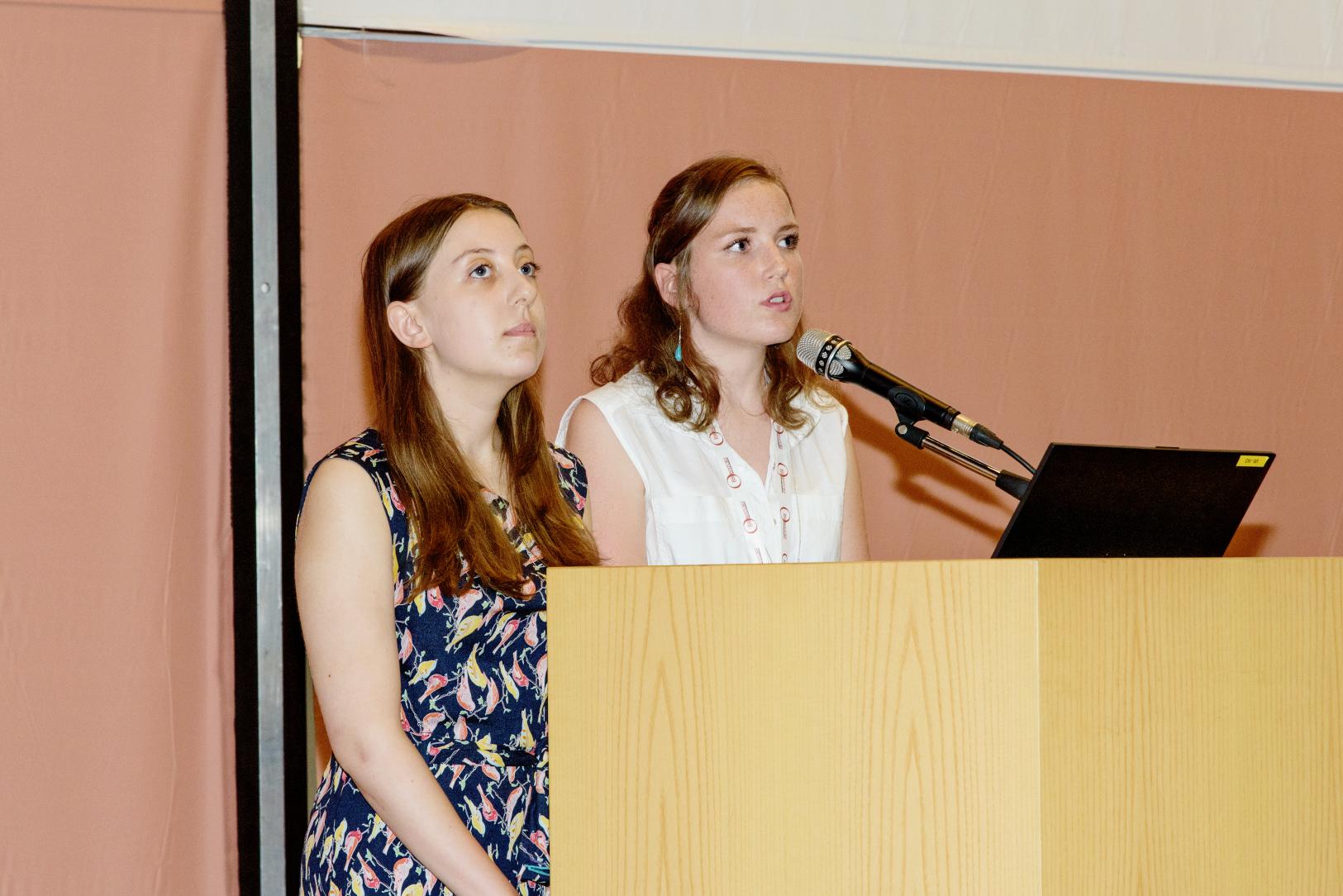 Speaking at the Magna Charta Universitatum.