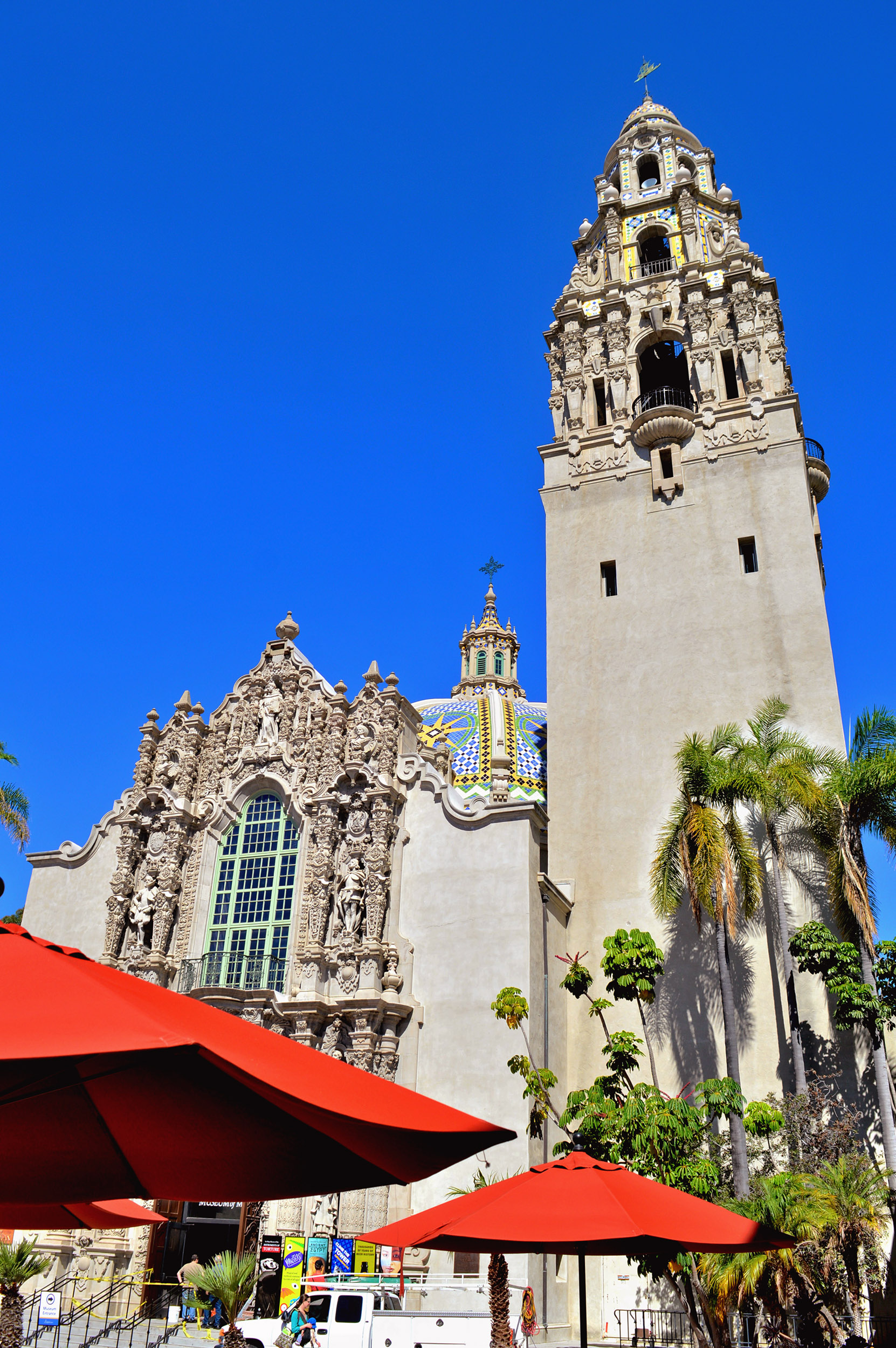 California Bell Tower, Balboa Park.