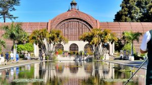 Botanical Building in Balboa Park, San Diego,