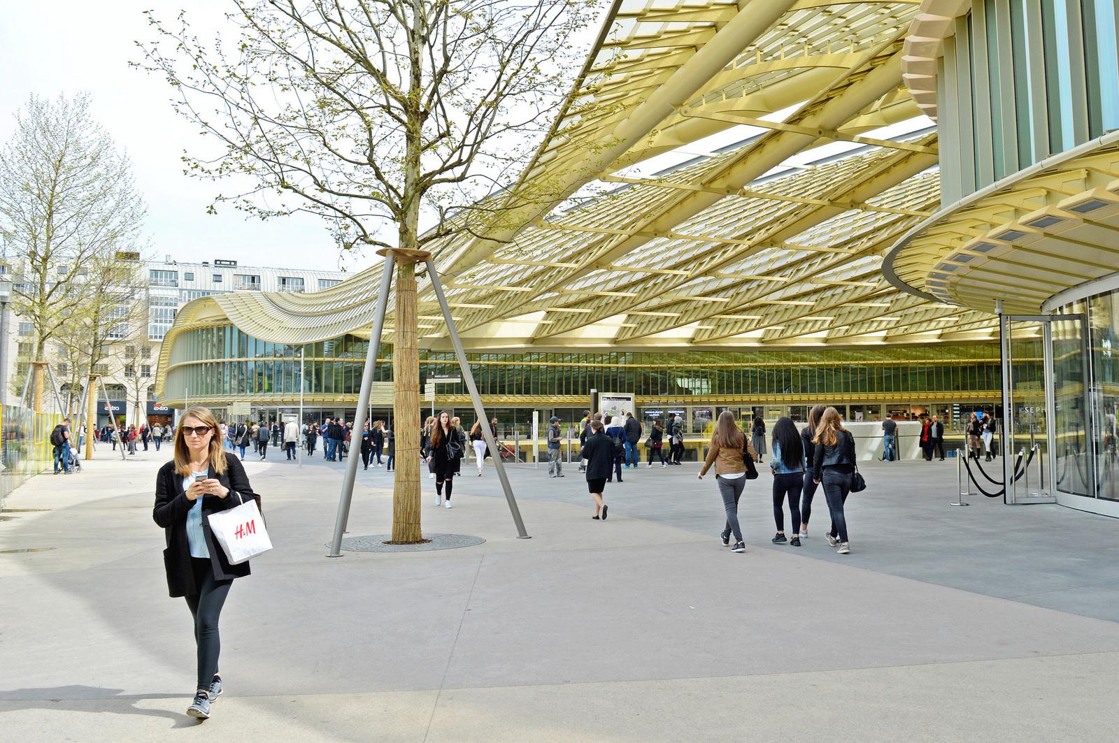 Les Halles, Paris (2016).