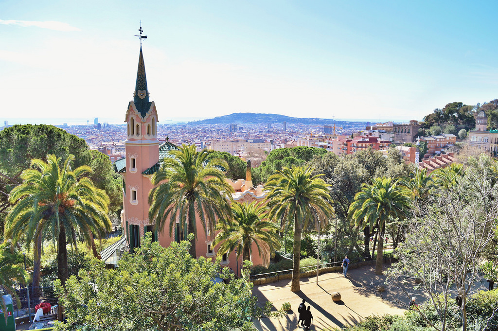 Gaudí House Museum, Park Guëll (Barcelona).