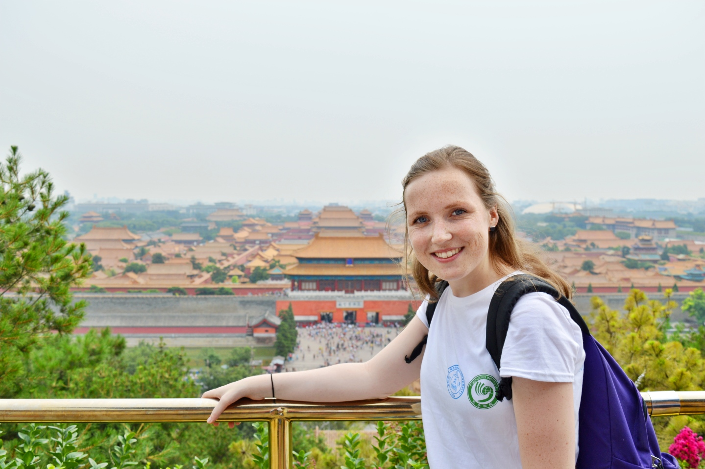 Me at the Forbidden City in Beijing.