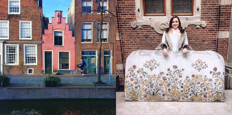 Visiting Dutch cities.