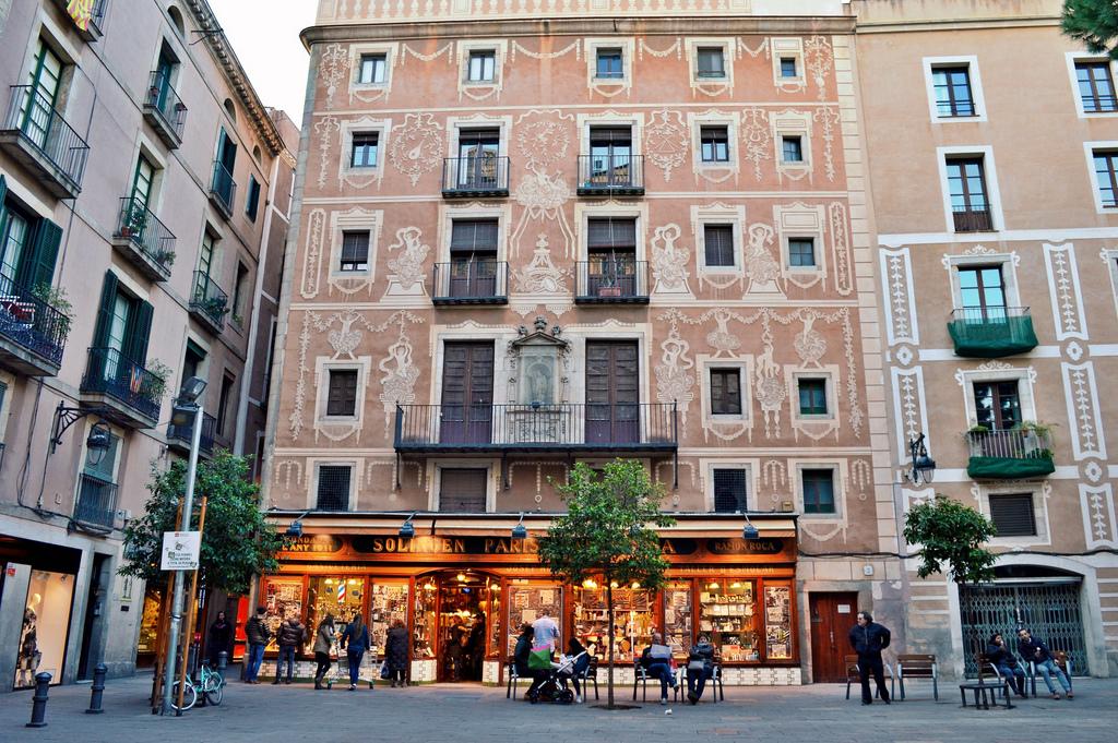 Barri Gòtic (Gothic Quarter), Barcelona.