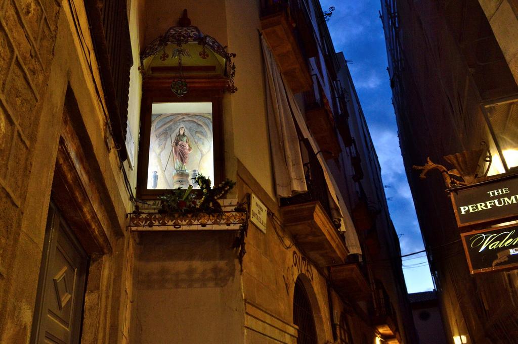 Barri Gòtic or Gothic Quarter in Barcelona.