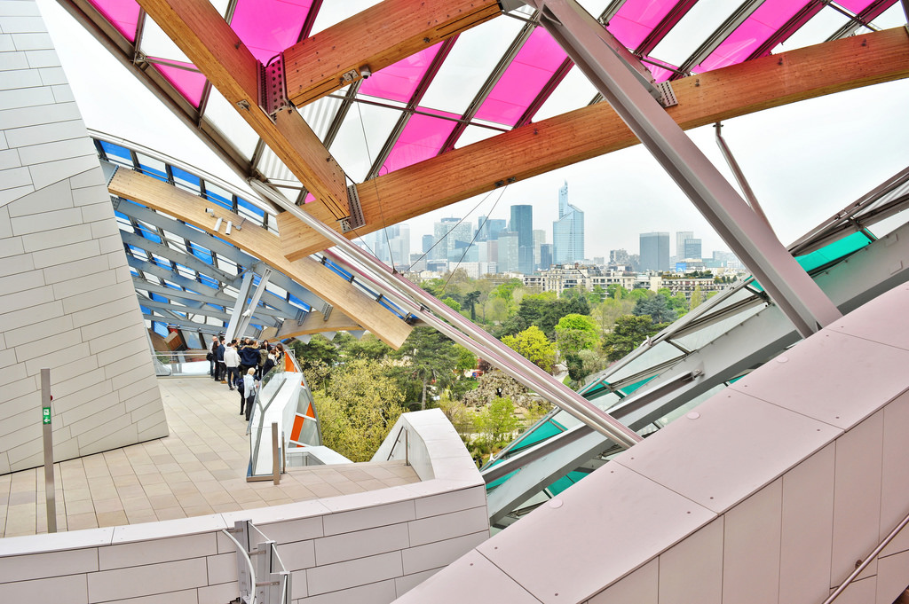 Fondation Louis Vuitton, Paris.