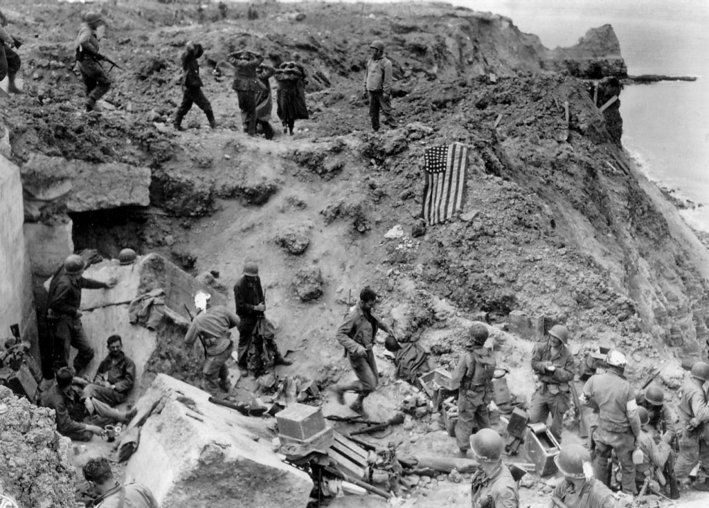 Pointe du Hoc, June 6 1944.