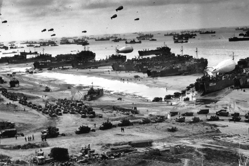 Omaha Beach, D-Day 1944.