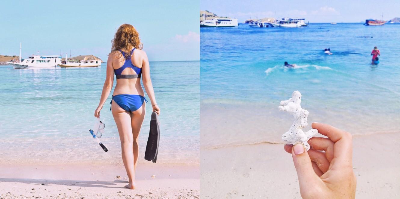 Pink Beach, Komodo Island (Indonesia).