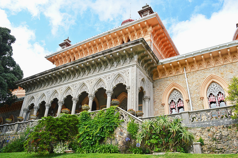 The Monserrate Palace in the Sintra region