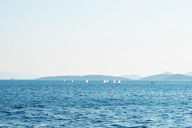 Bodrum shoreline