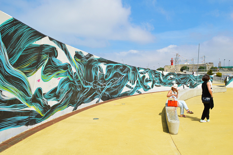 Street art in Figueira da Foz