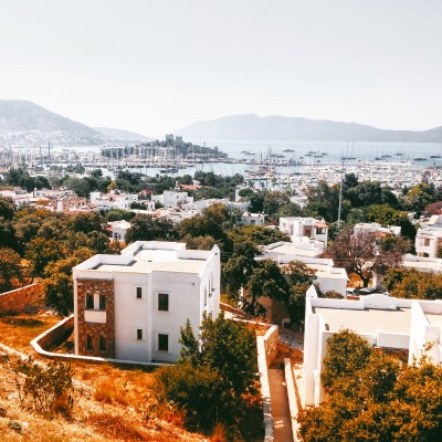 View of Bodrum city