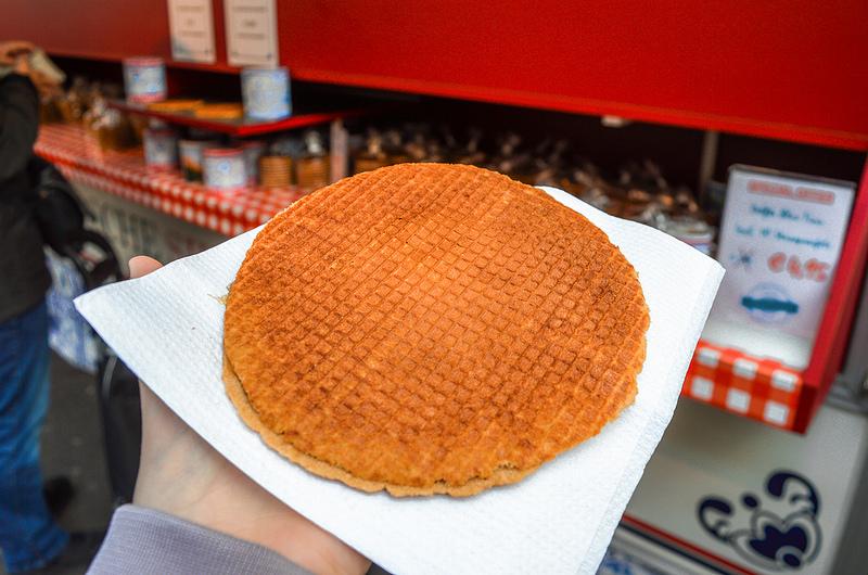 Traditional Dutch Stroopwafel
