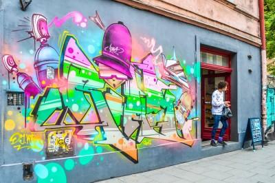 Street art in Kazimierz