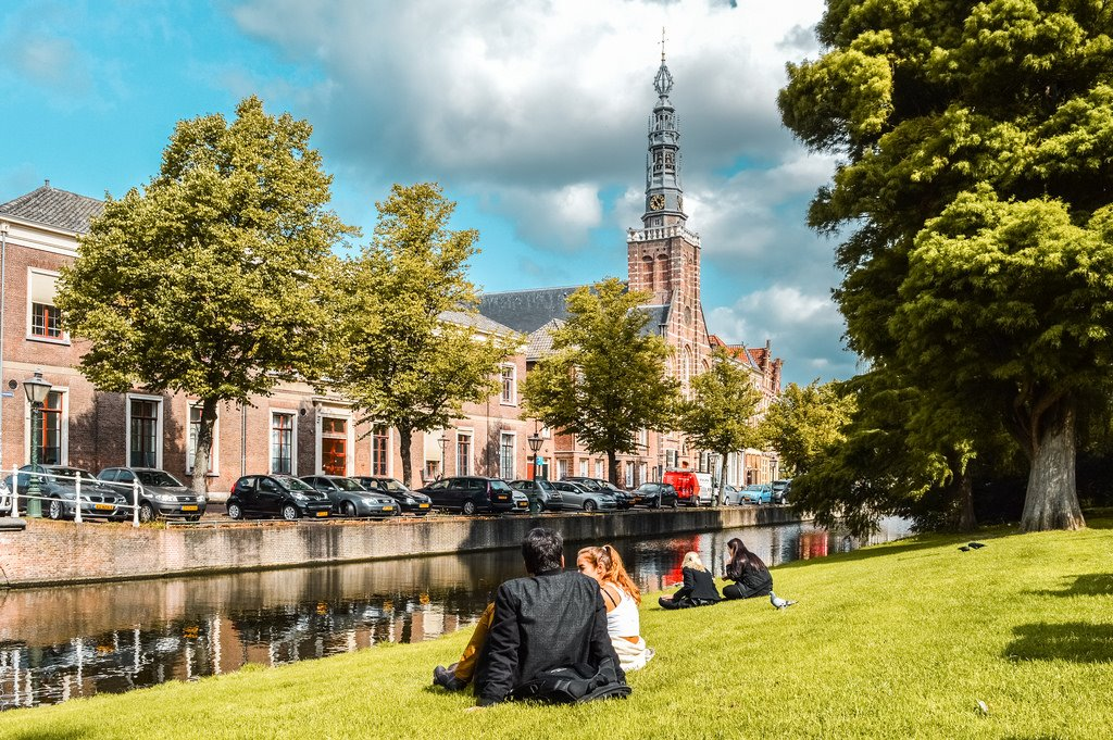 Van der Werffpark in Leiden today